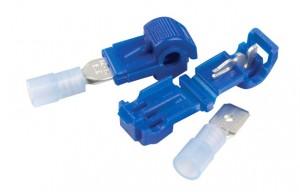 84-2907 – Quick Splice Self Stripping Adapters, Splice Combo Adapter, 18 – 14 & 16 – 14 Gauge, 25 Pair