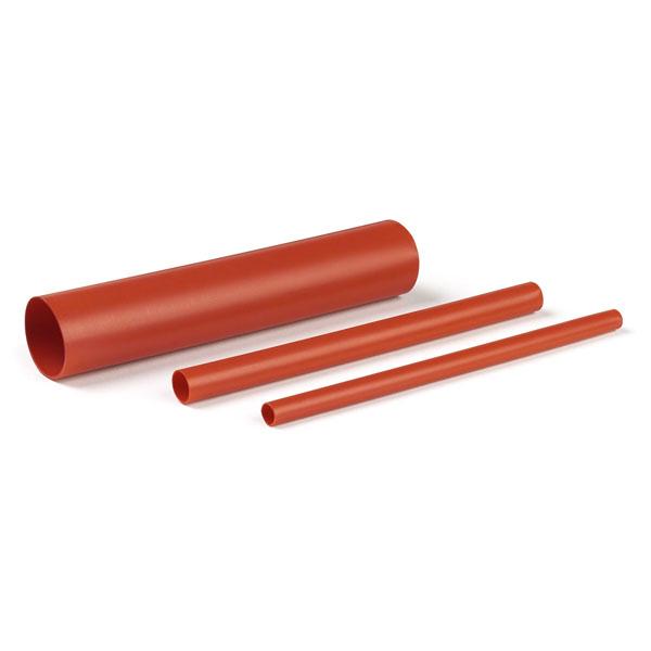 rouge Tube thermor/étractable /à double paroi 3:1