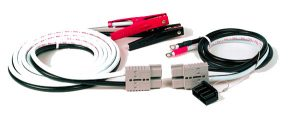 84-9279 – Booster Cables, 20′ Commercial Grade, 4 Gauge, w/ Plug-In-end
