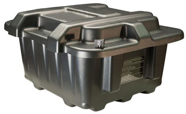 Grote Industries - 84-9422 – Automotive Light Truck Marine & RV Battery Box, 27-31 Dual