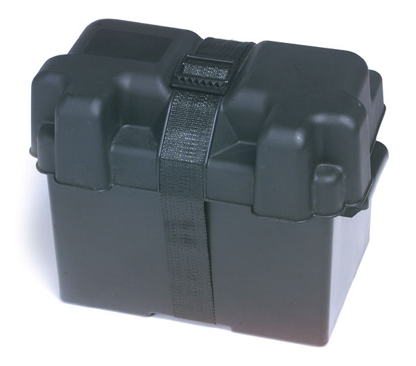 Grote Industries - 84-9427 – Automotive Light Truck Marine & RV Battery Box, 27 Black