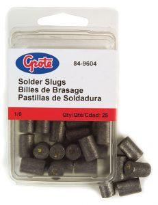 84-9604 – Solder Slug, 1/0 Gauge