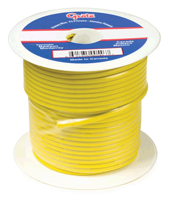87-5011 – General Purpose Thermo Plastic Wire, Primary Wire Length 100′, 10 Gauge