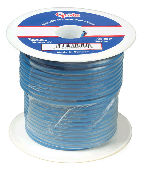 87-7010 - General Purpose Thermo Plastic Wire, Primary Wire Length ...