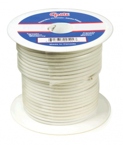 87-8007 - Cable termoplástico para uso general, cable primario de 100' de largo, calibre 16