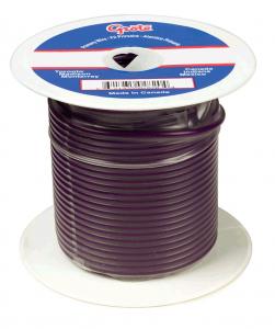 87-7013 - Cable termoplástico para uso general, cable primario de 100' de largo, calibre 14