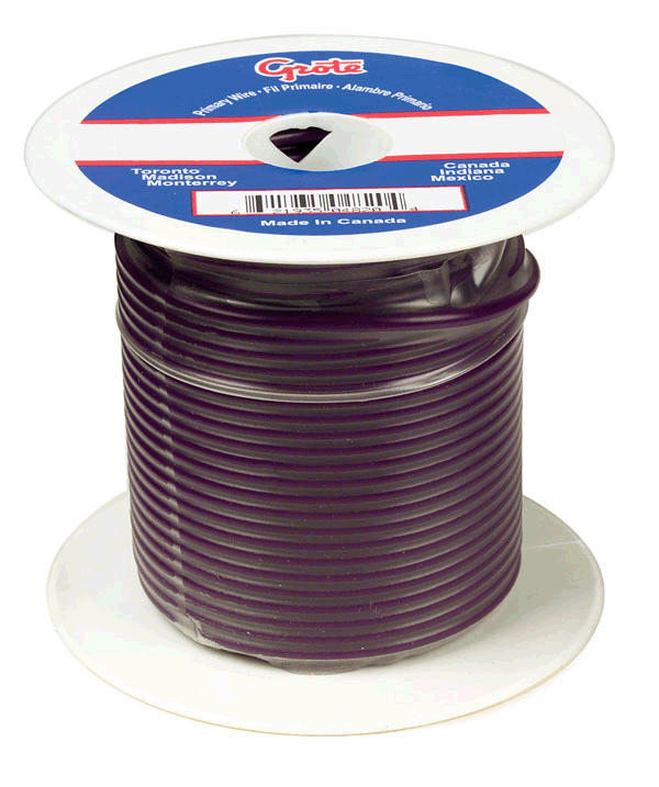 87-7013 - General Purpose Thermo Plastic Wire, Primary Wire Length ...