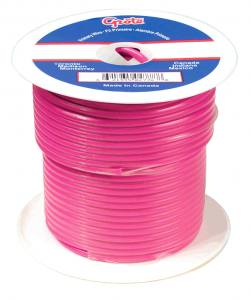 87-8014 – General Purpose Thermo Plastic Wire, Primary Wire Length 100′, 20 Gauge