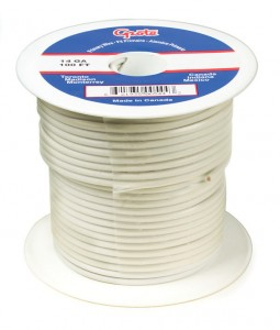 87-9003 – General Purpose Thermo Plastic Wire, Primary Wire Length 100′, 18 Gauge