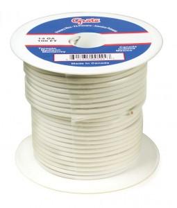 87-9003 - Cable termoplástico para uso general, cable primario de 100' de largo, calibre 18