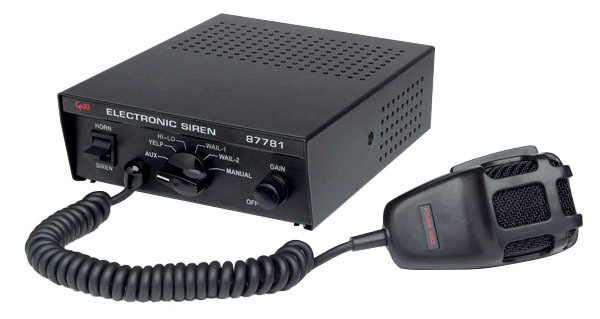 87781 – Full Featured Siren, Police / Fire Professional