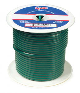 89-5006 - Cable termoplástico para uso general, cable primario de 25' de largo, calibre 10