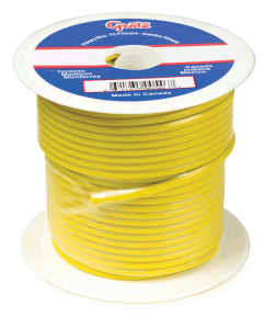 89-6011 – General Purpose Thermo Plastic Wire, Primary Wire Length 25′, 12 Gauge