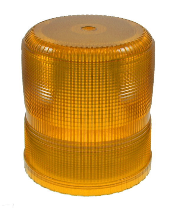 Grote Industries - 93003 – Warning & Hazard Replacement Lens, High Profile/Intensity Smart Strobe, Yellow