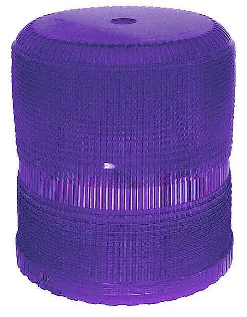 93005 – Warning & Hazard Replacement Lens, High Profile Class I & II Strobe, Blue