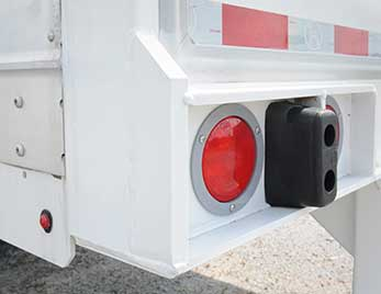 Grote Stop Tail Turn light on Heavy Duty Trailer