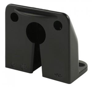 42322 – Vertical Mount MicroNova® Dot LED License Light, Bracket, Black