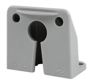 42332 – Vertical Mount MicroNova® Dot LED License Light, Bracket, Gray