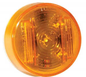 46133 – SuperNova® 2″ Clearance Marker LED Light, PC Rated, Yellow