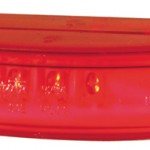 Red Thin-Line Dual Intensity LED Clearance Marker light