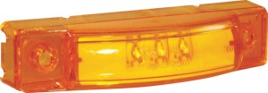49253 – SuperNova® 3″ Center Thin-Line Dual Intensity LED Clearance Marker Light, Yellow