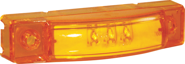 Grote Industries - 49253 – SuperNova® 3″ Center Thin-Line Dual Intensity LED Clearance Marker Light, Yellow