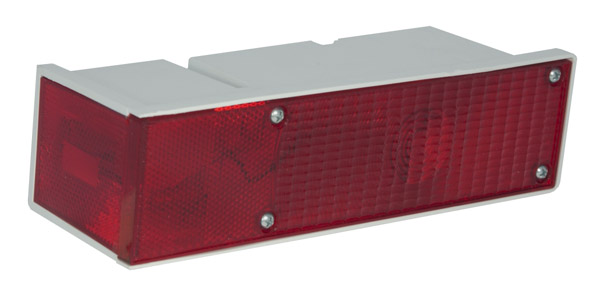 Grote Industries - 52372 – Large Wrap-Around 5 Function Rear Light, RH, Red