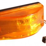 oem style side turn marker light sealed yellow