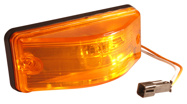 Grote Industries - 53833 – OEM Style Side Turn Marker Light, Sealed, Yellow