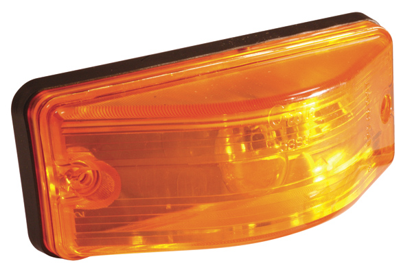 53853 – OEM Style Side Turn Marker Light, Bulb Replaceable, Yellow