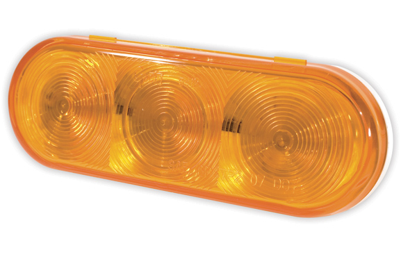 54173 – Grote Select™ Oval LED Stop/Tail/Turn Lamp, Auxiliary, Female Pin, Yellow