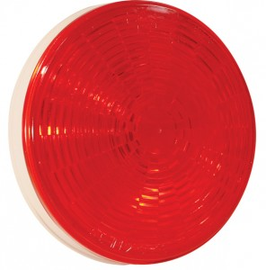 54342 – Grote Select™ 4″ LED Stop Tail Turn Light, Female Pin Termination, Red