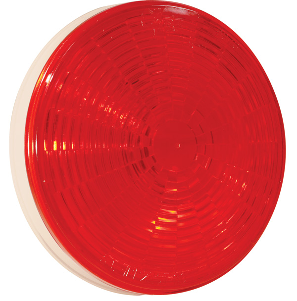 Grote Industries - 54342 – Grote Select™ 4″ LED Stop Tail Turn Light, Female Pin Termination, Red