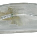 small rectangular utility light clear