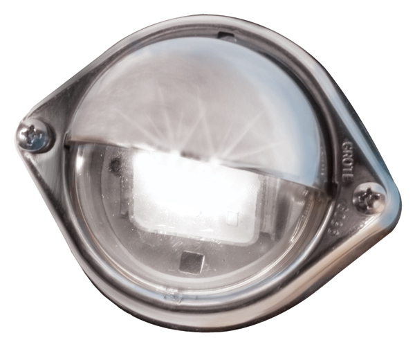 Grote Industries - 60571 – LED Courtesy Stepwell Utility Light, Clear