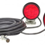 Heavy Duty LED Magnetic towing lights kit