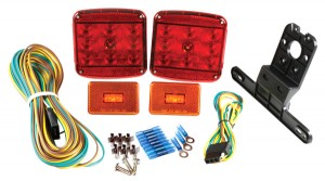 65870-5 – LED Submersible Trailer Lighting Kit, with Clearance Marker Lights