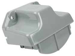 43960 – License Light Mounting Bracket, Gray