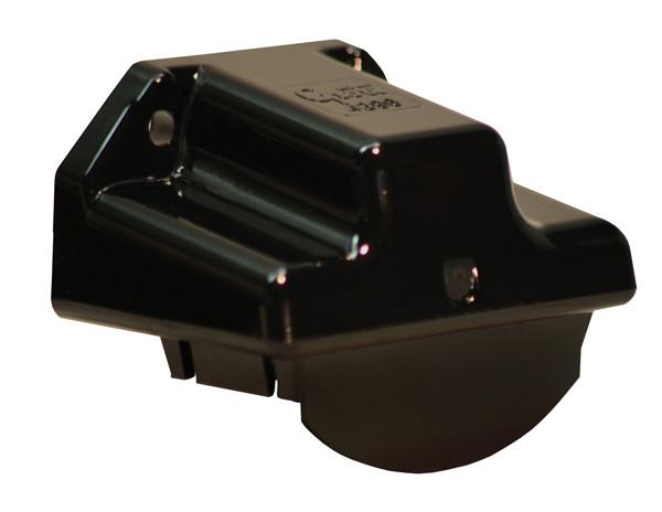 43962 – License Light Mounting Bracket, Black