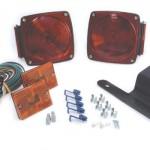 submersible trailer lighting kit kit