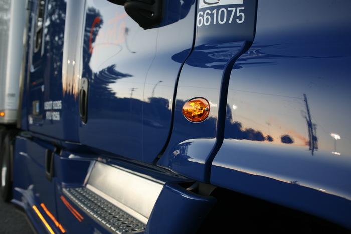 LED Clearance Marker Light on heavy duty truck