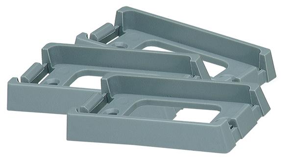 Grote Industries - 43970-3 – Brackets For Small Rectangular Lights, Bulk Pack