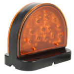 Amber LED Warning Light For Agricultural & Off-Highway Applications.