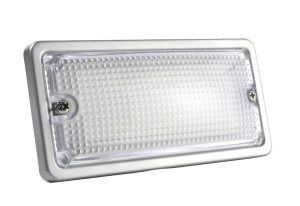 61871 – LED WhiteLight™ Courtesy Flush Mount Light, 6 Diodes, Courtesy Flush-Mount, 150 Lumens, 9-30V, Gray