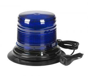 78865 – LED Beacon, Class III,  Vacuum Mount, Medium Profile, Blue