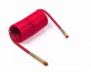 81-0020-RC – Low Temperature Coiled Air, Working Length 20′, Leads 12″, 1pk, Red