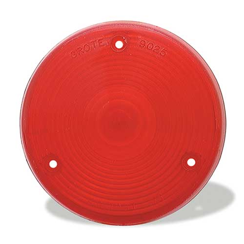 Grote Industries - 90252 – Stop Tail Turn Replacement Lens, Red