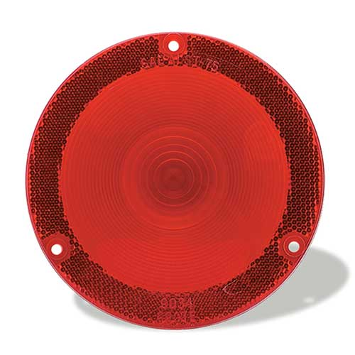 90342 – RV, Marine & Utility Replacement Lens, Trailer Lighting, Red