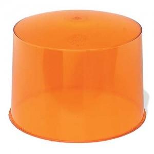 90373 – Warning & Hazard Replacement Lens, Two Sealed Beam Beacon, Yellow