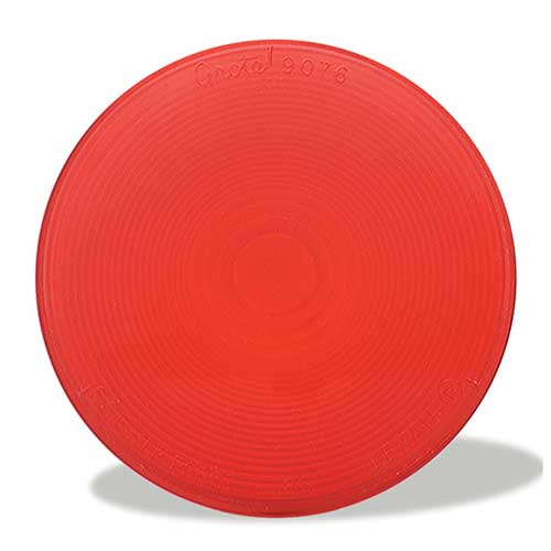 90762 – Stop/Tail/Turn Replacement Lens, Red